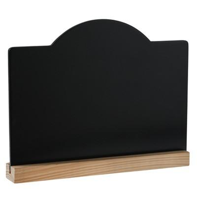 tischaufsteller schwarze deko tafel zum beschriften. Black Bedroom Furniture Sets. Home Design Ideas
