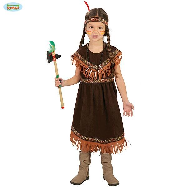 Kinder Karnevalskostüm Indianerin 7-9 Jahre