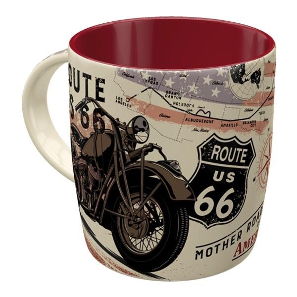 Kaffeetasse Route 66 Bike