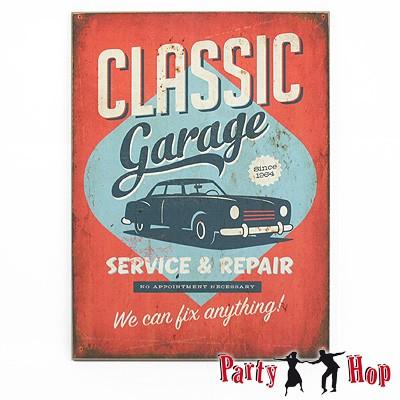 Deko-Bild Classic Garage 30x40 cm