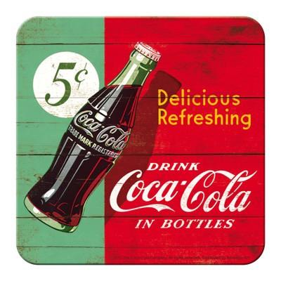 Untersetzer Coca-Cola Delicious Refreshing