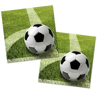 Servietten Fußball Rasen