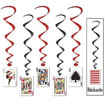 Spiralhänger Spielkarten