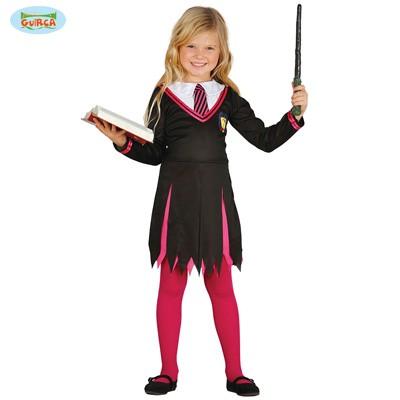 Mädchenkostüm Zauberschülerin 5-6 Jahre