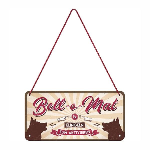 Blechschild Bell-o-Mat