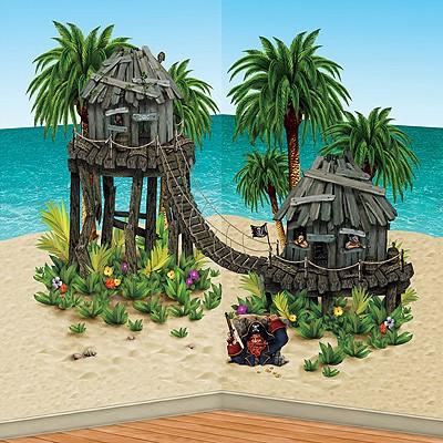 Wanddeko-Set Piratenversteck
