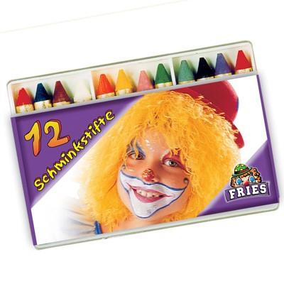 12 Schminkstifte Theaterqualität