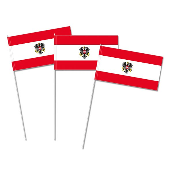 Papierfahnen Österreich