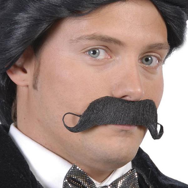 Falscher Schnurrbart Zwirbelbart 13,5cm