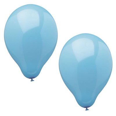Luftballons hellblau 10er