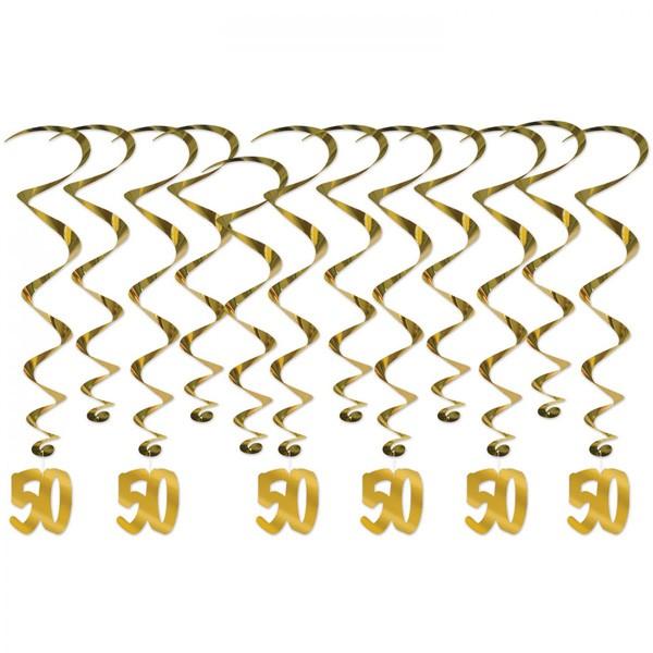 Dekohänger goldene 50