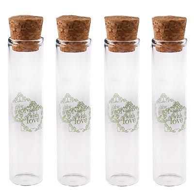 Glasröhrchen With Love mint