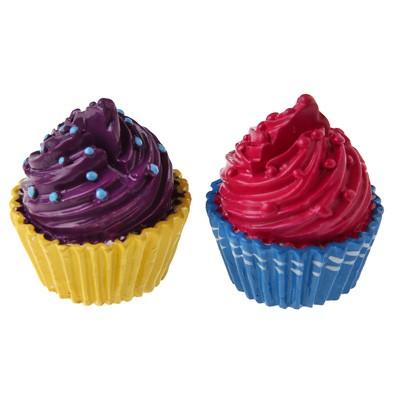 Platzkartenhalter Cupcakes pink lila
