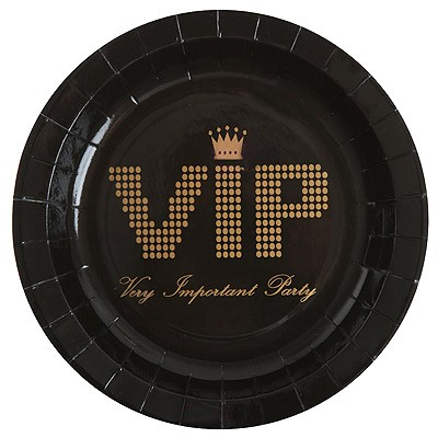 Pappteller VIP Party