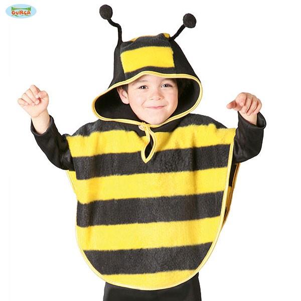 Kinder Karnevals Kostum Uberwurf Cape Biene Bienchen 5 6