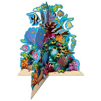 Tischaufsteller Korallenriff Unterwasserwelt