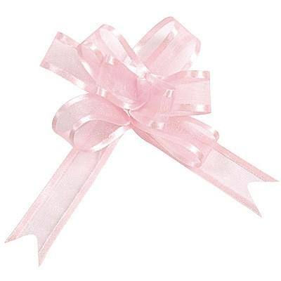 Dekoschleifen selbstraffend rosa