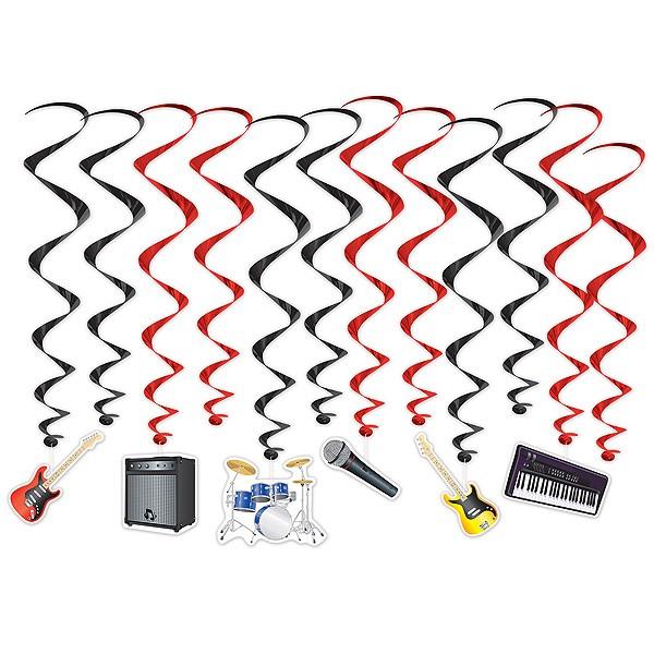 Hängedeko Band Musikinstrumente