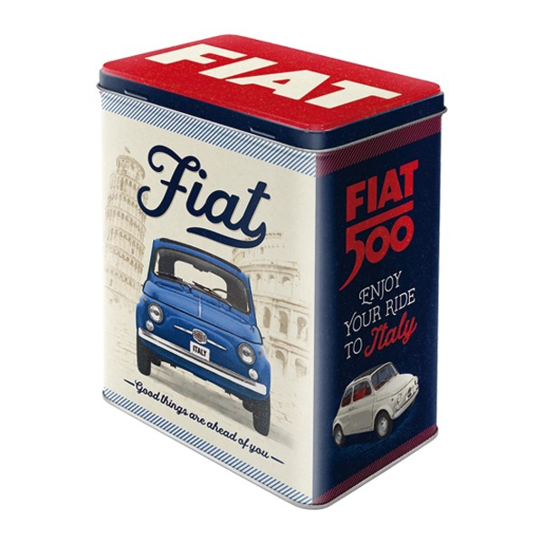 Vorratsdose Fiat 500 Blech