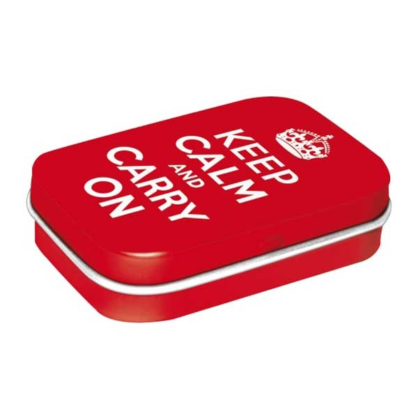 Pillendose Keep Calm And Carry On