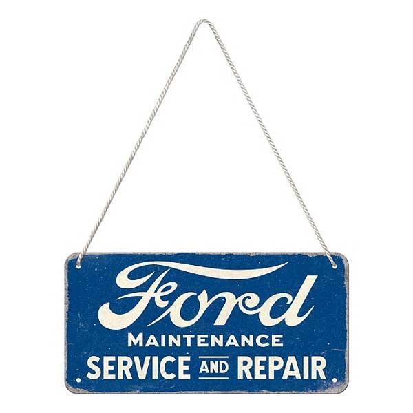 Hängeschild Ford Service and Repair
