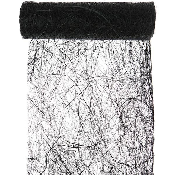 tischdeko schwarzer tischl ufer abaca fasern manilahanf party hop. Black Bedroom Furniture Sets. Home Design Ideas