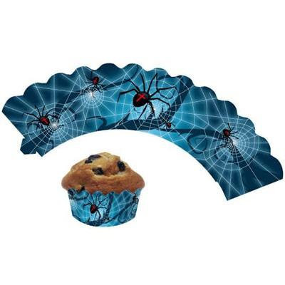 Cup Cake Banderolen Spinnen
