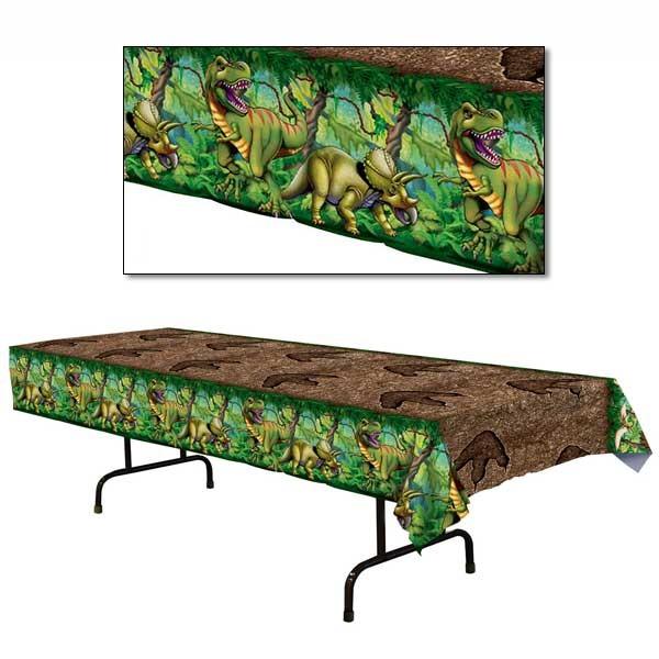 PVC-Tischdecke Dinosaurier