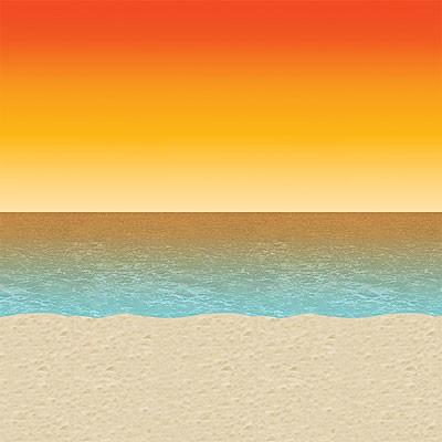 Wandverkleidung Sonnenuntergang