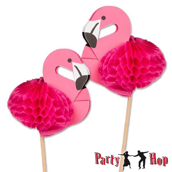 deko picker flamingo f r exotische drinks cocktailpicker sommertrend hawaii tiki partyzubeh r. Black Bedroom Furniture Sets. Home Design Ideas