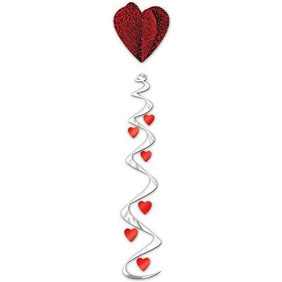 Spiralhänger Rotes Herz