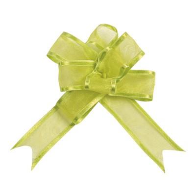 Dekoschleifen selbstraffend hellgrün