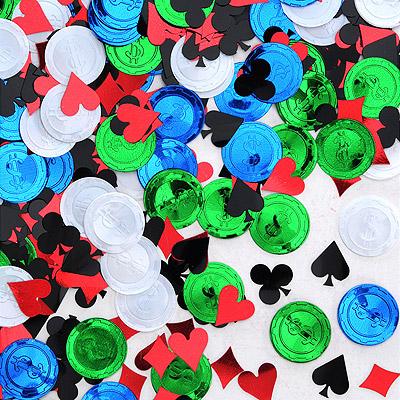 streudeko konfetti poker casino party spielkarten symbole. Black Bedroom Furniture Sets. Home Design Ideas