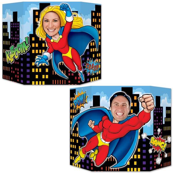 Foto-Stellwand Superhelden