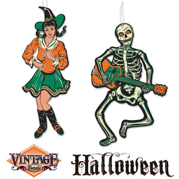 Halloween Dekofiguren Gogo Tänzer