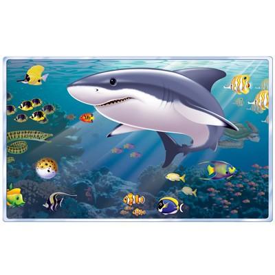 Partydeko Wanddeko Aquarium