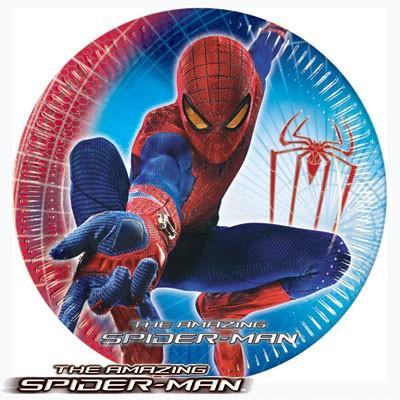 Pappteller The Amazing Spiderman
