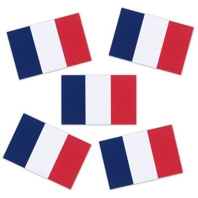 Streudeko Frankreich Konfetti