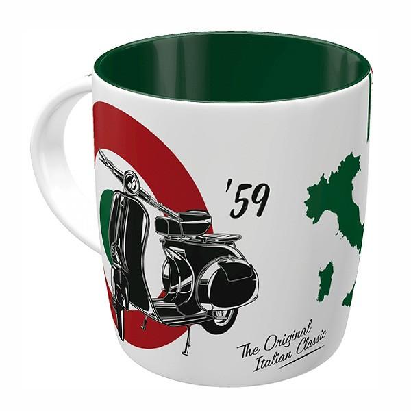 Kaffeetasse Vespa Italian Classic