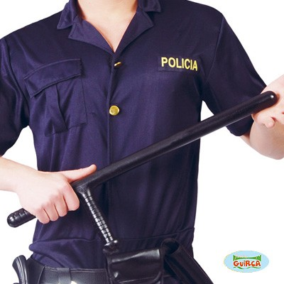 Polizeischlagstock Kostümartikel Plastik
