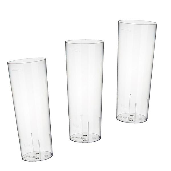 Longdrink-Gläser Kunststoff klar