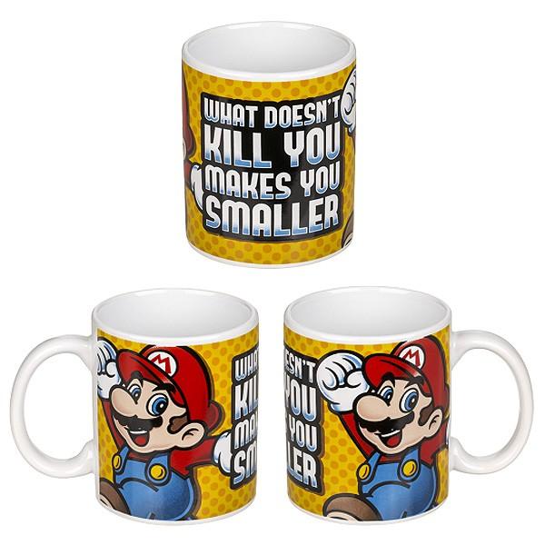 Tasse Super Mario Spruch