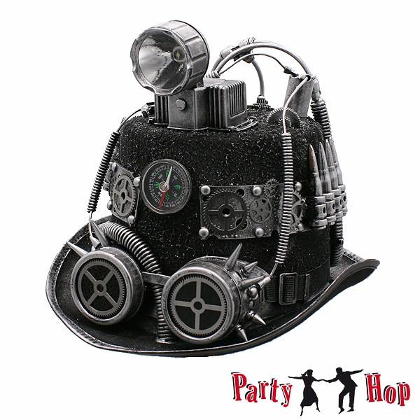 Steampunk Zylinder mit Lampe