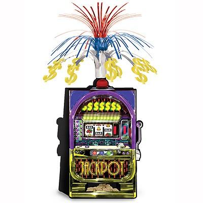 Tischdeko Slot Machine