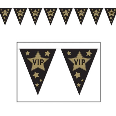 Wimpelgirlande VIP Partydeko
