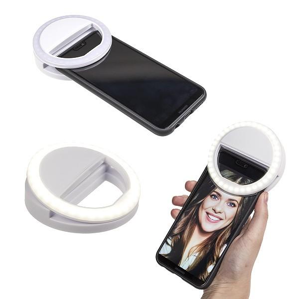 Selfie LED Licht Ring weiß