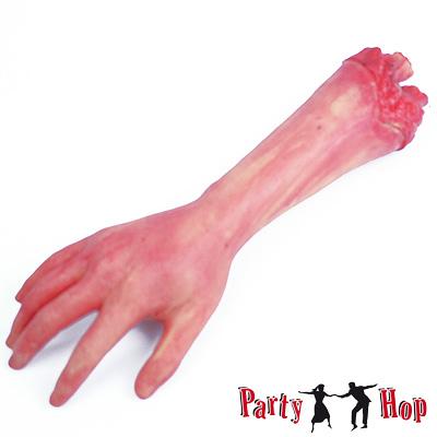 k nstlicher abgetrennter arm halloweendeko horror mottoparty zombie kost m karneval zubeh r. Black Bedroom Furniture Sets. Home Design Ideas