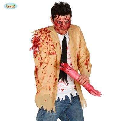 Kostümoberteil Zombie ohne Arm