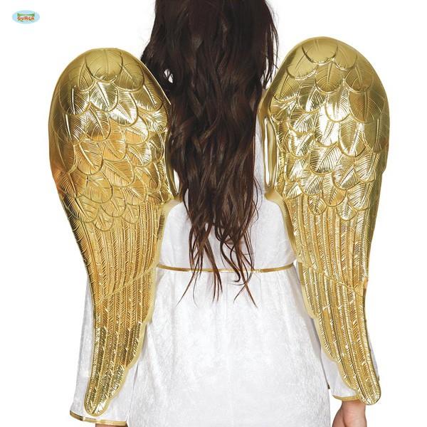Engelsflügel gold Kunststoff 80cm