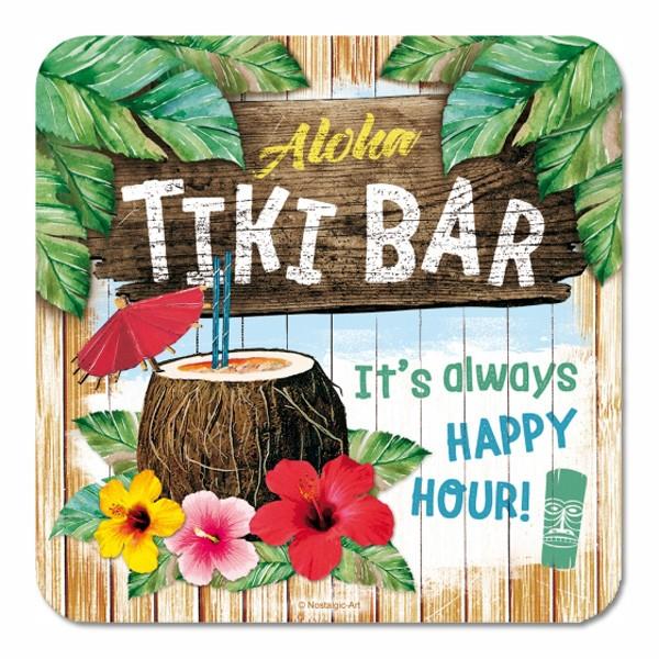 Untersetzer Tiki Bar